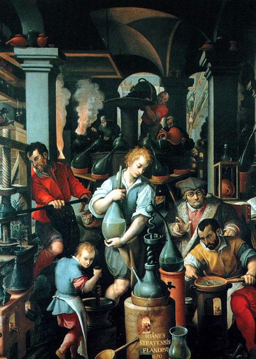 Giovanni Stradano , Firenze, Palazzo Vecchio, Studiolo di Francesco I de'Medici, circa 1580
