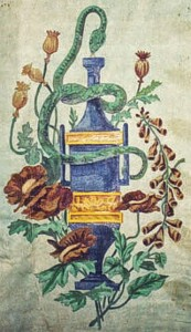 Emblema della Farmacia Corvi