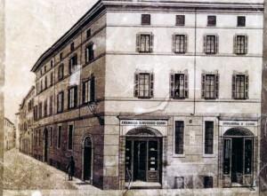 La casa costruita nel 1790