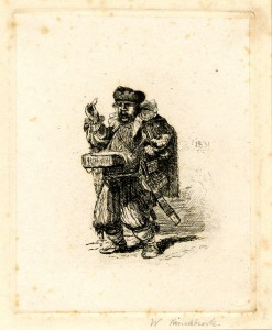 Copia a china da Rembrandt, 1831
