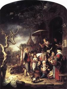 Dou Gerard, Il Ciarlatano - 1652
