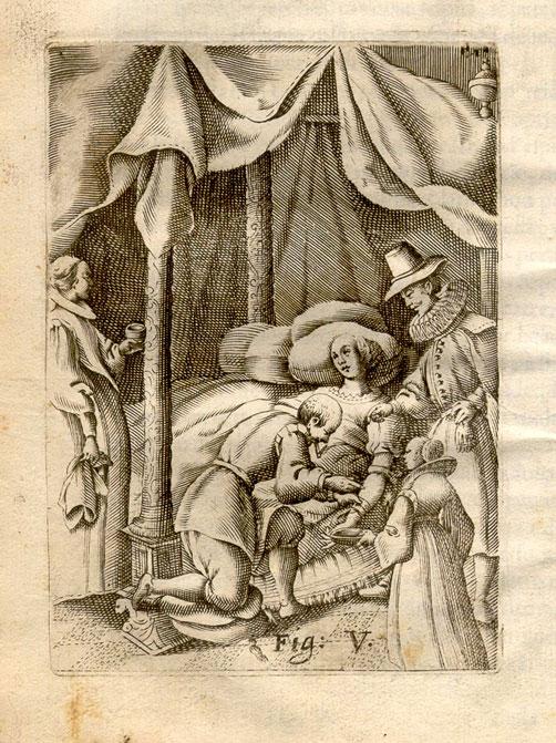 Cintio d'Amato. Nuoua et vtilissima prattica di tutto quello ch'al diligente barbiero s'appartiene. (Naples: G. Fasulo, 1671).
