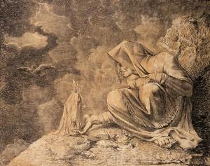 La strega e la mandragora, Henry Fuseli, 1812